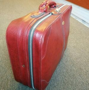 Real vintage carry-on luggage